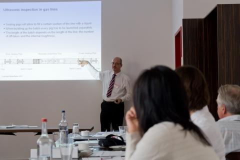 """Dr. Konrad Reber on """"In-line Inspection"""" at IPSW 2013"""