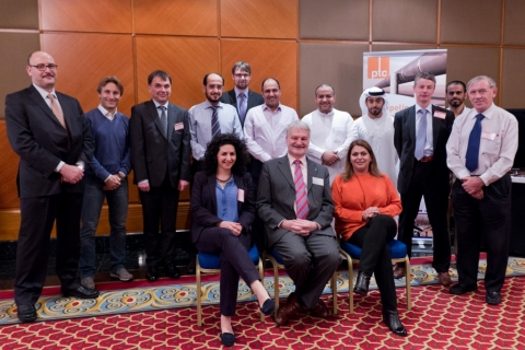 Participants of the Pipeline Technology Seminar (Middle East) in Dubai