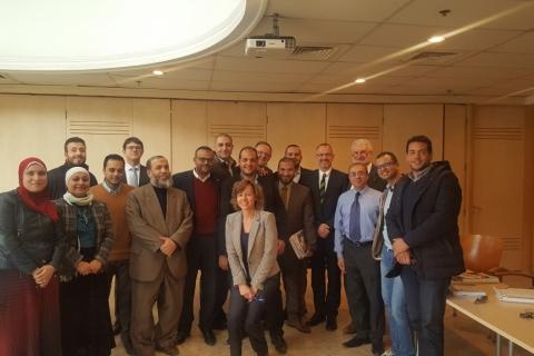 Pipeline seminar participants in Cairo from EGAS; GASCO, TAQA ARABIA, CCC, BAPCO