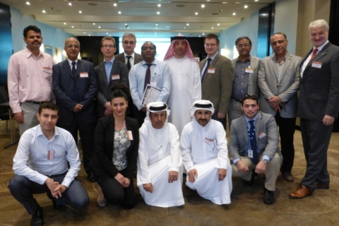 Participants of the Pipeline Technology Seminar (Middle East) in Abu Dhabi
